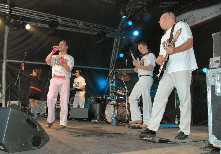 WHAM!DURAN Live at North Wilts Festival 2004
